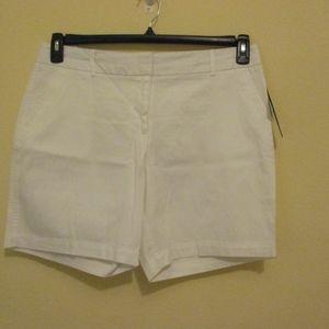 NWT - COUNTERPARTS shite shorts - sz 14P - $40.00